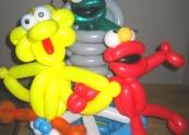 Sesame Street Balloon Cake