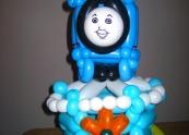 Thomas the Tank Engine Balloon cake