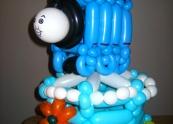 Thomas the tank Balloon cake