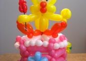 Tweety Bird balloon Cake