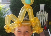 Balloon crown fit for boys