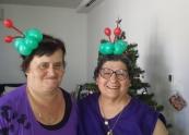 Christmaw balloon headbands