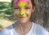 Glam tiger face painting Melbourne.jpg
