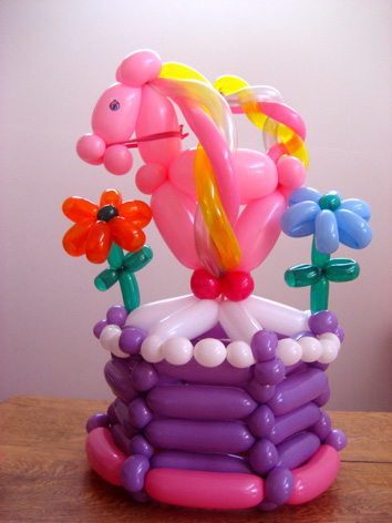 Unicorn Balloon Cake
